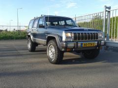 mijn jeep xj laredo