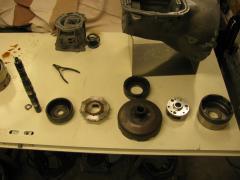 Rear clutch assembly