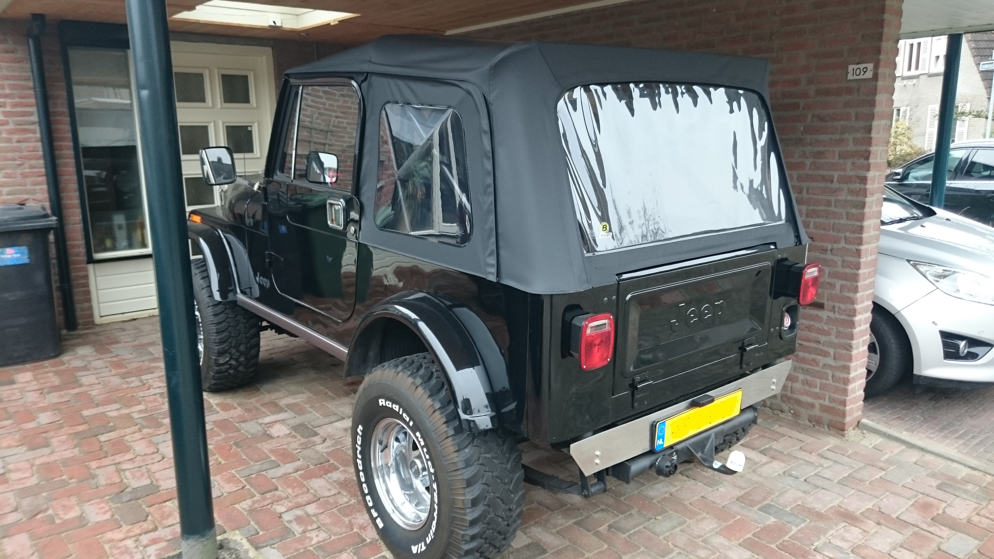 jeep cj7 v8 te koop