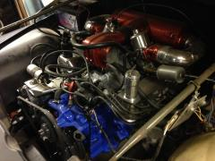 nekaf met rover 3500 V8 motor